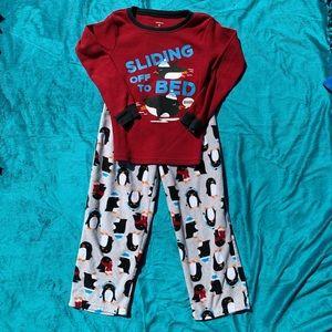 Carters fleece thermal pajamas!